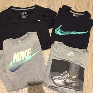 Bundle of Nike T-shirt's